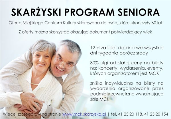 skarzyski program seniora MCK
